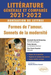 Natalie Cossart - Littérature générale et comparée - Formes de l'amour, sonnets de la modernité Agrégation de lettres.