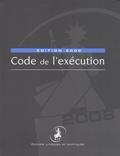Natalie Fricero - Code de l'exécution.