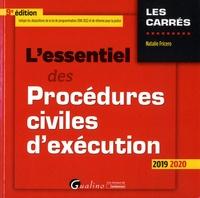 L'essentiel des procédures civiles d'exécution - Natalie Fricero pdf epub