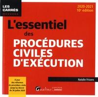 Natalie Fricero - L'essentiel des procédures civiles d'exécution.