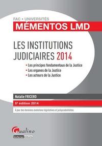 Les Institutions judiciaires 2014.pdf