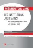 Natalie Fricero - Les institutions judiciaires.