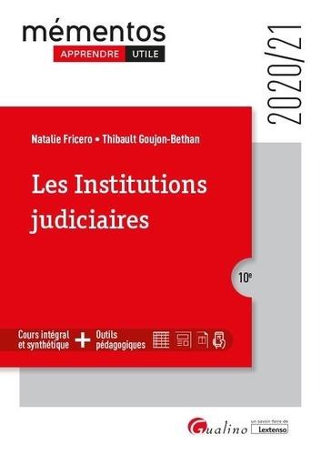 Les institutions judiciaires  Edition 2020-2021