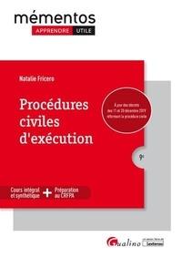 Natalie Fricero - Procédures civiles d'exécution.