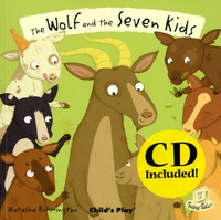 Natasha Rimmington - The Wolf and the Seven Little Kids. 1 CD audio