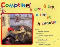 Nathalie Almeida et Cécile Capredon - Comptines à dire, à lire, à rire et à chanter. 1 CD audio