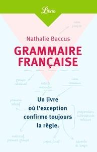 Nathalie Baccus - Grammaire française.