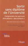 """Nathalie Beaupère et Gérard Boudesseul - Sortir sans diplôme de l'Université - Comprendre les parcours d'étudiants """"décrocheurs""""."""