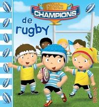 Nathalie Bélineau et Jonathan Landemard - P'tits champions de rugby.