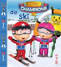 Nathalie Bélineau et Jonathan Landemard - P'tits champions de ski.