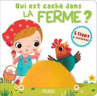 Nathalie Bélineau et  Leaf Illustration - Qui est caché dans la ferme ?.