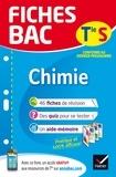 Nathalie Benguigui - Fiches bac Chimie Tle S (enseignement spécifique) - fiches de révision Terminale S.