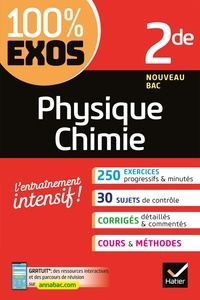 Lire les ebooks téléchargés Physique-Chimie 2de  - Exercices résolus - Seconde par Nathalie Benguigui, Patrice Brossard, Jacques Royer