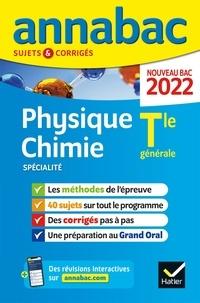 Nathalie Benguigui et Julien Moncany - Physique-Chimie spécialité Tle générale - Sujets & Corrigés.