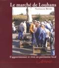 Nathalie Bétry - Le marché de Louhans.