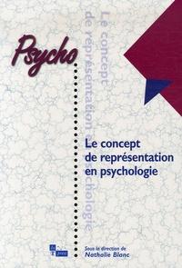 Nathalie Blanc - Le concept de représentation en psychologie.