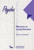 Nathalie Blanc et Denis Brouillet - Mémoire et compréhension - Lire pour comprendre.