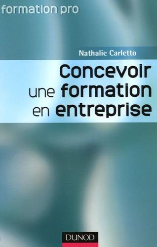 Nathalie Carletto - Concevoir une formation en entreprise.