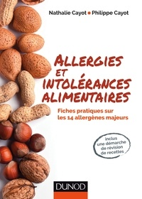 Nathalie Cayot et Philippe Cayot - Allergies et intolérances alimentaires.