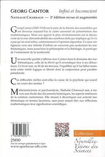 Georg Cantor. Infini et inconscient 2e édition revue et augmentée