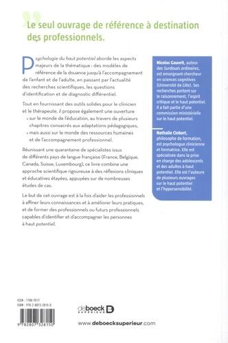 Psychologie du haut potentiel. Identifier, comprendre, accompagner