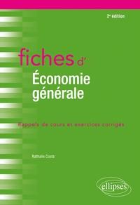 Nathalie Costa - Fiches d'économie générale.
