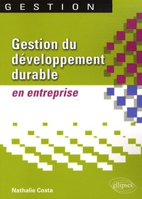 Nathalie Costa - Gestion du développement durable en entreprise.