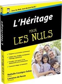 Nathalie Couzigou-Suhas et Laurence de Percin - L'Héritage pour les nuls.