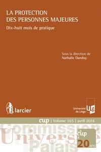 Nathalie Dandoy - La protection des personnes majeures.