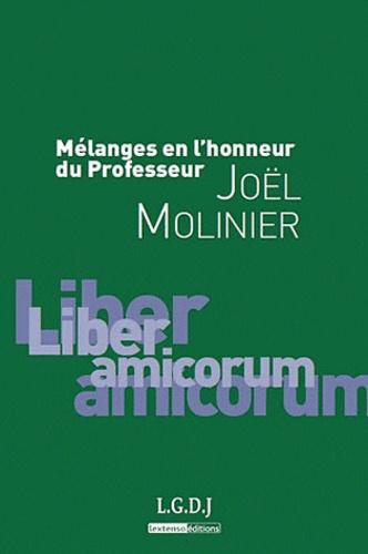 Nathalie De Grove-Valdeyron et Marc Blanquet - Mélanges en l'honneur du professeur Joël Molinier.