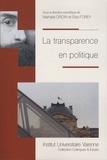 Nathalie Droin et Elsa Forey - La transparence en politique.