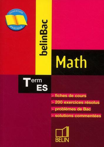 Nathalie Dumont - Math Terminale ES.