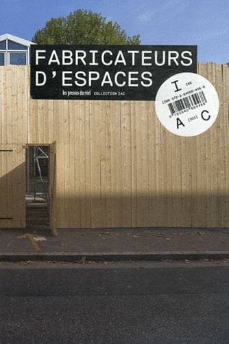 Nathalie Ergino - Fabricateurs d'espaces.