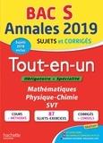 Nathalie Fabien et Patrice Delguel - Annales BAC S - Tout-en-un.