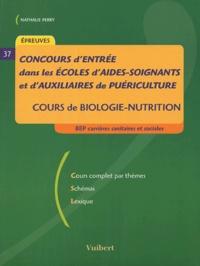 Concours dentrée dans les écoles daides-soignants et dauxiliaires de puériculture - Cours de biologie-nutrition.pdf