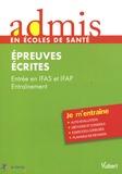 Nathalie Ferry et Anne-Sophie Diamante - Entrée IFAS et IFAP Entraînement - Epreuves écrites.