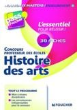 Nathalie Fink et Eric Tisserand - Histoire des arts - Concours professeur des écoles.