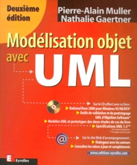 Modélisation objet avec UML. Avec CD-Rom, 2ème édition - Nathalie Gaertner | Showmesound.org