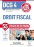 Nathalie Gonthier-Besacier et Jennifer Gasmi - DCG 4 Droit fiscal - Fiches de révision - Réforme Expertise comptable 2019-2020.