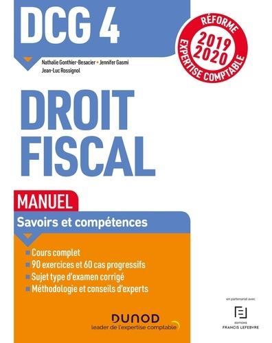 Nathalie Gonthier-Besacier et Jennifer Gasmi - DCG 4 Droit fiscal - Manuel - Réforme 2019/2020.