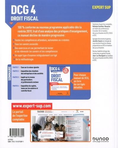 DCG 4 Droit fiscal  Edition 2019-2020