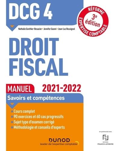 Nathalie Gonthier-Besacier et Jennifer Gasmi - DCG 4 Droit fiscal - Manuel.