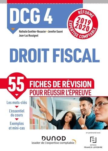 Nathalie Gonthier-Besacier et Jennifer Gasmi - Droit fiscal DCG 4 - Fiches de révision.