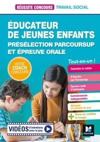 Nathalie Goursolas Bogren et Bernard Abchiche - Réussite Concours Educateur jeunes enfants - EJE - Préselection Parcoursup + Ep orale - Préparation.