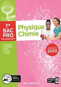 Nathalie Granjoux et Sandrine Lafaye - Physique-Chimie 1re Bac Pro tous groupements - Pochette élève.