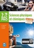 Nathalie Granjoux et Sandrine Lafaye - Sciences physiques et chimiques 1re-Tle Bac Pro.
