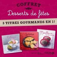 Nathalie Helal - Coffret Desserts de fêtes - 3 titres gourmands en 1 !.