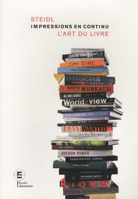 Nathalie Herschdorfer - Impressions en continu - L'art du livre.