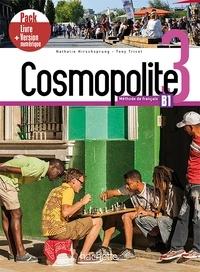 Nathalie Hirschsprung et Tony Tricot - Cosmopolite 3 B1 - Méthode de français + version numérique. 1 DVD-Rom