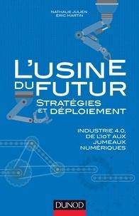 Nathalie Julien et Eric Martin - L'usine du futur - Stratégies et déploiement - Industrie 4.0, de l'IoT aux jumeaux numériques.